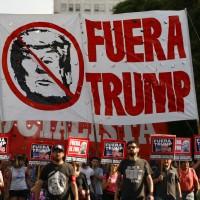 抗議G20高峰會 阿根廷上千民衆上街抗議