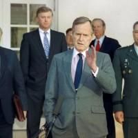 【快訊】波灣戰爭打敗伊拉克 美前總統老布希去世
