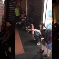 Parents, children lined up over 12 hours to register for New Taipei cram school