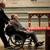 老布希病逝 台灣各界感念其對我堅定支持