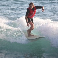South African surfer claims longboard title in Taitung