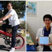 Taiwanese students invent innovations for medical treatment and daily use