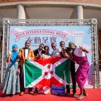 長榮大學國際週「衣動呈寶」 外籍生國服走秀同慶