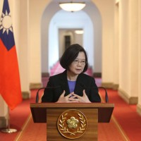 Taiwan president calls for unity, supports senior officials