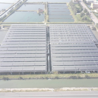 邁向綠能科技 水試所與業者實驗漁電共生