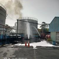 【突發】高雄林園工業區化工廠氨氣外洩 消防隊赴現場灑水控制
