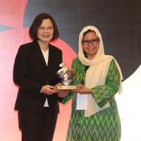 Indonesia-based NGO receives Taiwan's Human Rights Award, pledges to continue fighting for people