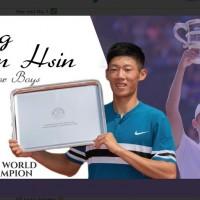 【夜市球王】17歲台灣網球好手曾俊欣 獲ITF年度青少男世界冠軍