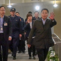 Shanghai TAO officials return to China after visit to Taipei