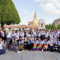 新二代參訪曼谷行文化交流 盼接軌國際