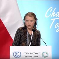 大人們好幼稚!瑞典15歲女孩致詞 籲重視氣候變遷