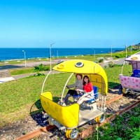 Shen'ao Rail Bike in New Taipei revitalizes old tracks and romanticizes seaside landscapes