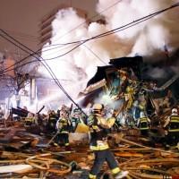 【影片】日本札幌居酒屋爆炸至少42傷 疑瓦斯氣爆引起
