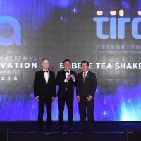 照片左起:簡又新董事長、台灣智能機器人蘇勃碩處長、Enterprise Asia CEO Mr. Tan Sri Dr. Fong Chan Onn。(照片來源:台灣智能機器人科技(股) 公司)