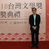 Lin Chun-ying wins Novel Award at 2018 Taiwan Literature Awards