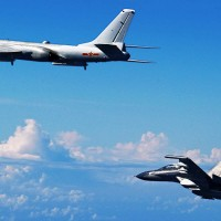 Chinese military aircraft and ships appear close to southern Taiwan