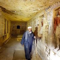 埃及考古新發現  4400年前祭司古墓重見天日