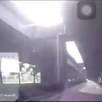 Video shows speed demon crash into a pillar in western Taiwan