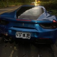 Taiwan public donates NT$810,000 to help driver pay NT$12 million bill for wrecked Ferraris