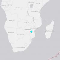 【地震快報】辛巴威發生芮氏規模5.5地震 地震深度僅7.6公里