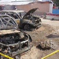 索馬里亞首都發生汽車炸彈攻擊 恐怖組織青年黨承認犯行