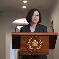 蔡英文:捍衛臺灣,我不曾在壓力下低頭