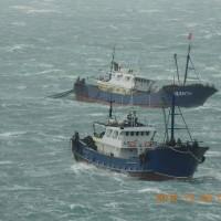 Chinese ships fishing illegally near Taiwan's Penghu islands