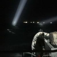 中國漁船澎湖越界避風拖網 海巡署水砲驅離15艘