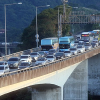 Drivers can expect NYE traffic delays on Taiwan's Nat. Highways