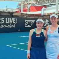 Taiwan's female tennis stars making headway early in new season