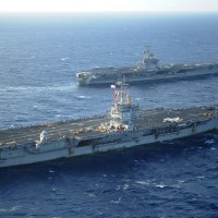 Admiral claims China would own South China Sea if it sunk 2 US aircraft carriers
