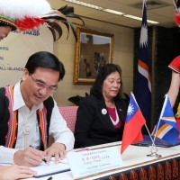 Taiwan signs agreement with Marshall Islands to promote Austronesian language, culture