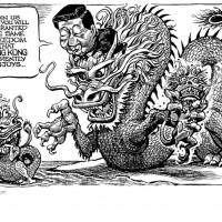 香港被中國統一後果如何?《經濟學人》漫畫台灣人一看秒懂