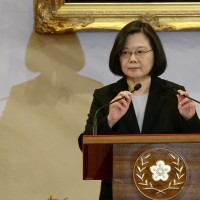 Taiwan President calls on the world community to support its democracy against China