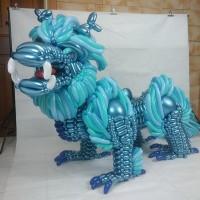 高手在民間!國三生「麒麟」氣球藝術驚豔網民
