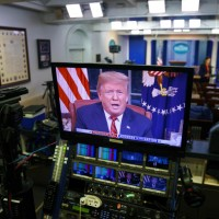 川普演說呼籲通過美墨高牆預算 民主黨反嗆:別耍任性
