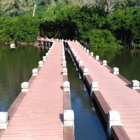 Newly completed boardwalk along scenic coastal forests in SW Taiwan