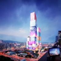 Designs for 'Taipei Twin Towers' revealed by Dutch firm MVRDV