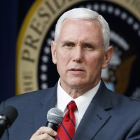 File photo: US Vice President Mike Pence