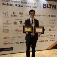 結合小鎮美景與購物習慣   台灣館連奪印度旅展2大獎項