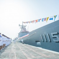 Taiwan Navy showcases MK13 missile systems aboard new Perry-class frigates
