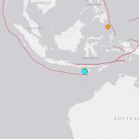 印尼發生芮氏規模6.4淺層強震