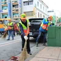 環保署:「巡、倒、清、刷」迎新春 籲請民眾維護良好公共環境