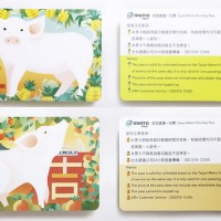 Taipei Metro issues Year of the Pig one-day passes