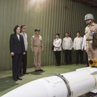 President Tsai orders rapid production of Taiwan's indigenous missiles: report
