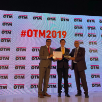 Taiwan wins best design award at India's OTM travel fair