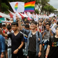 Taiwanese volunteer campaigns in China for LGBT rights