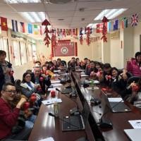 新住民學天燈折紙體驗傳統春節文化 盼成新台灣人
