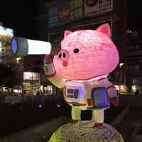 Lantern festival in Taiwan's Hsinchu City features viral main lantern: 'Cosmos Pig'