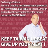 Premier Su spreads awareness of Taiwan's fight against African Swine Fever